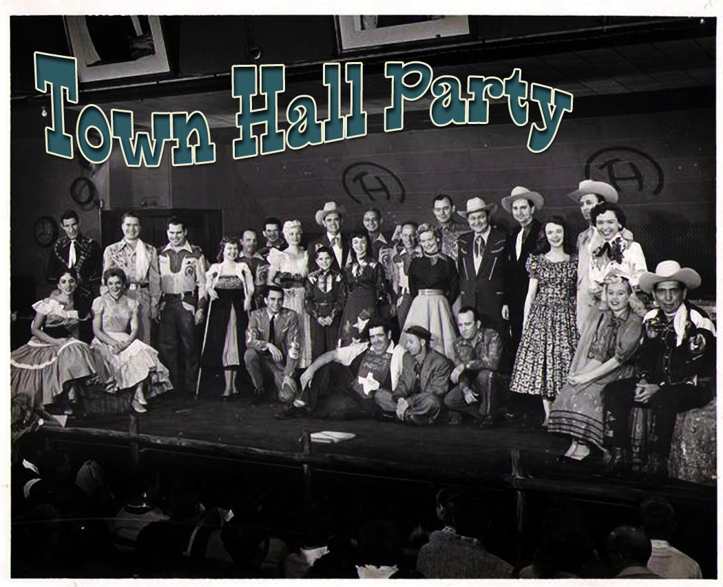 Town Hall Party, Joe Maphis, Merle Travis,  Dortha Boatwright,